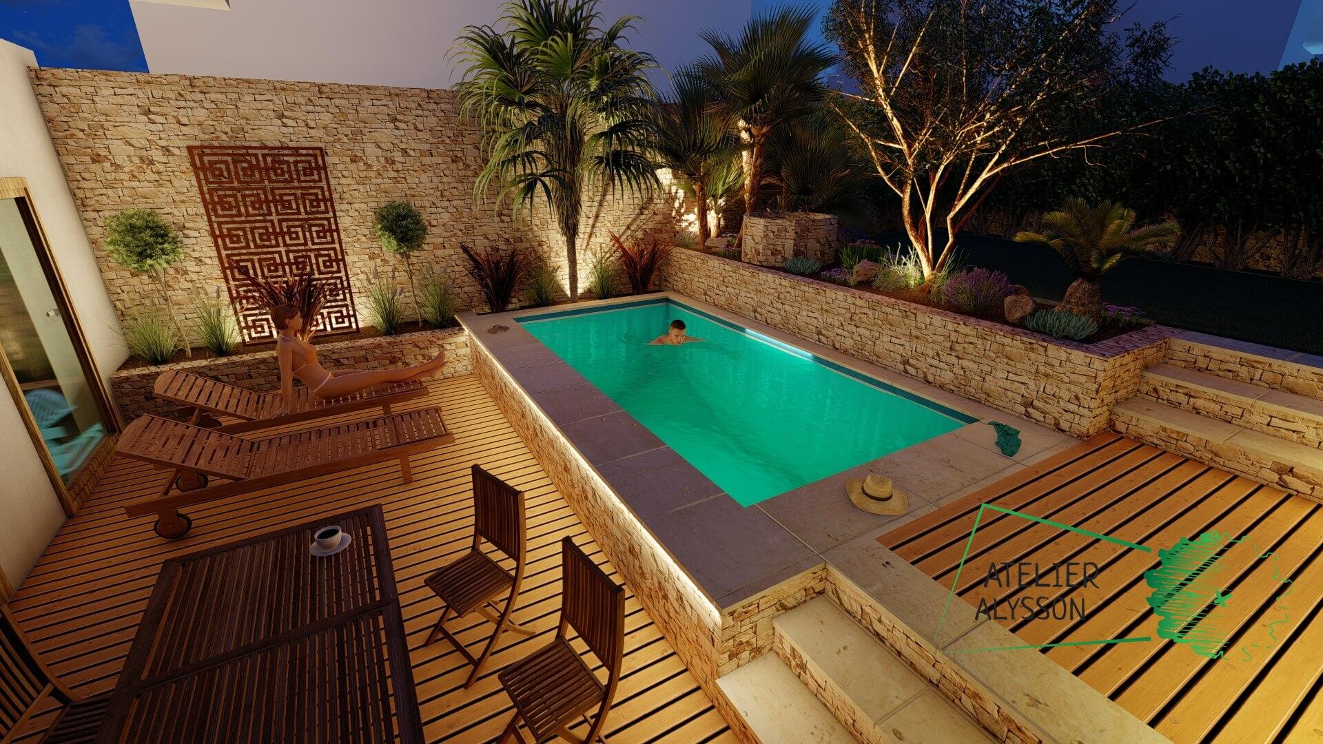 Jardin-a-etages-piscine-nuit-2