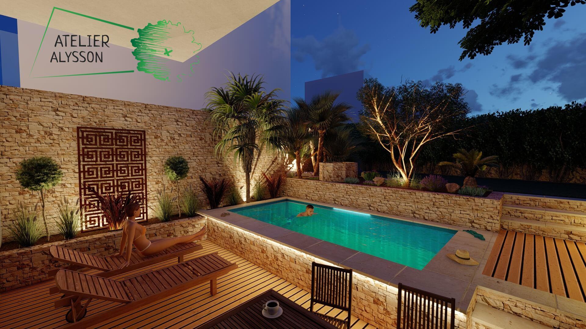 Jardin-a-etages-piscine-nuit-3